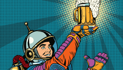 Guess What? Space is Full of Booze