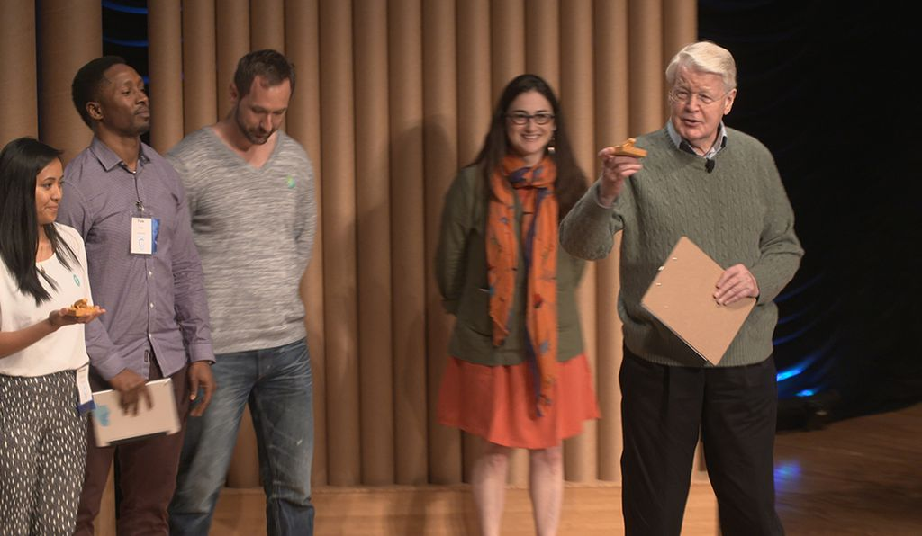 At the Smithsonian's Earth Optimism Summit, the former president of Iceland Olafur Grimsson encouraged new solutions to climate change, awarding cash prizes to the winners of the