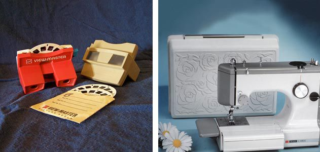 Chuck Harrison designed the View-Master and a Sears sewing machine
