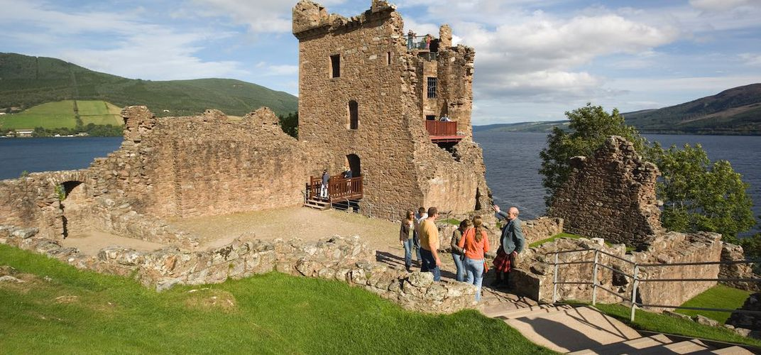 Urquhart Castle, the Highlands