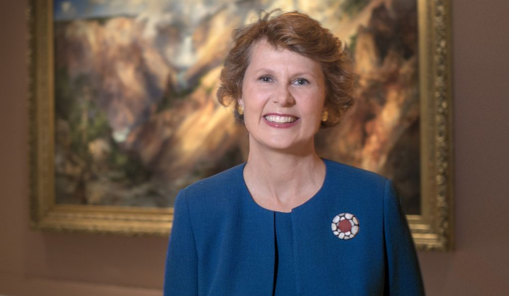 Stephanie Stebich is the Margaret and Terry Stent Director of the Smithsonian American Art Museum.