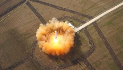 Space X's Grasshopper Makes Successful Leap
