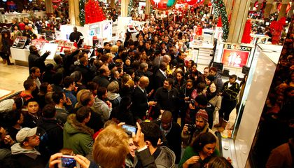 Shopping on Black Friday Makes You Feel Like a Well-Loved Warrior