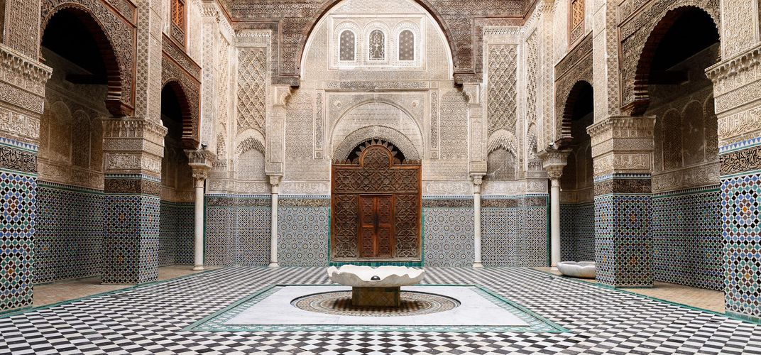 Traditional architectural design in Fez