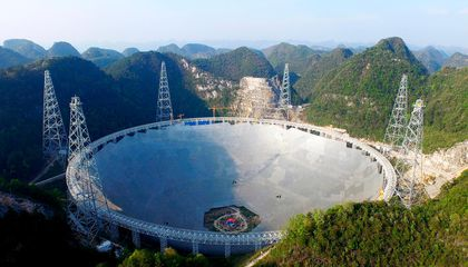 China Now Has the World's Biggest Radio Dish
