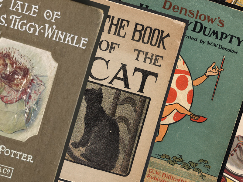 Rare Children's Books Digitized by the Library of Congress