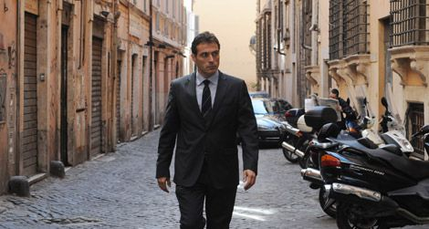 Rufus Sewell as Aurelio Zen in the BBC series