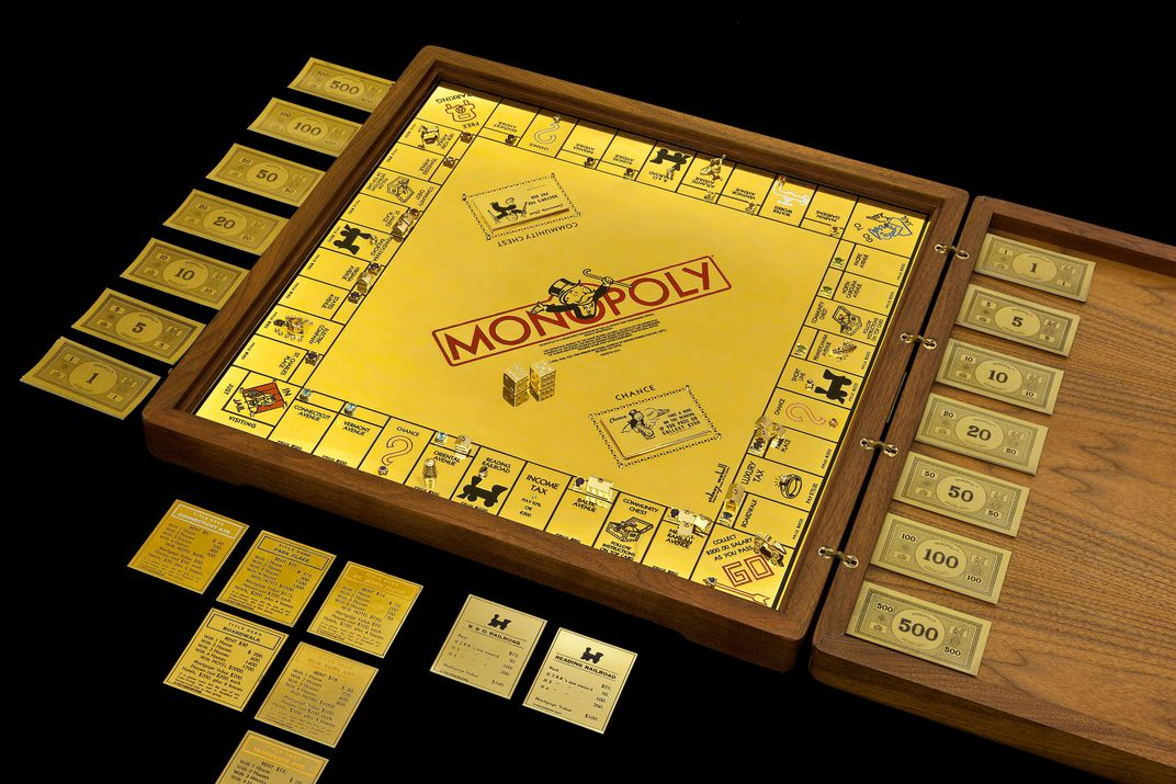 Image result for Golden Monopoly