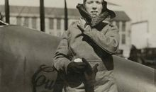 A Female Aviator in 1926 Needed a Stunt. So She Flew Under the Brooklyn Bridge.