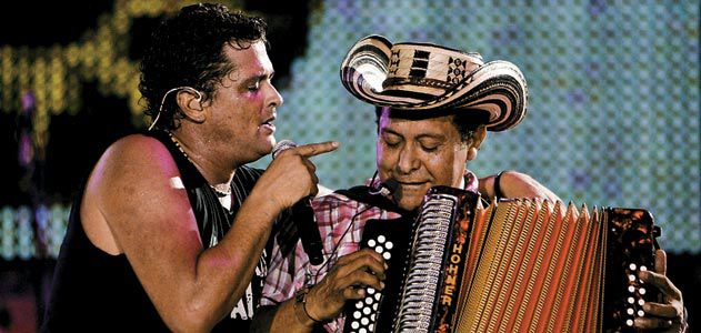 Carlos Vives and Egidio Cuadrado