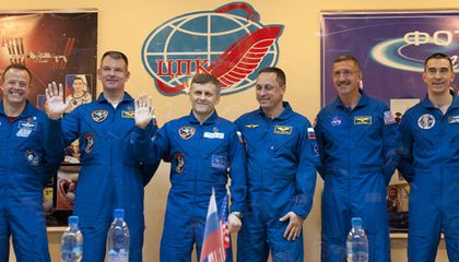 Expedition 27 crew members