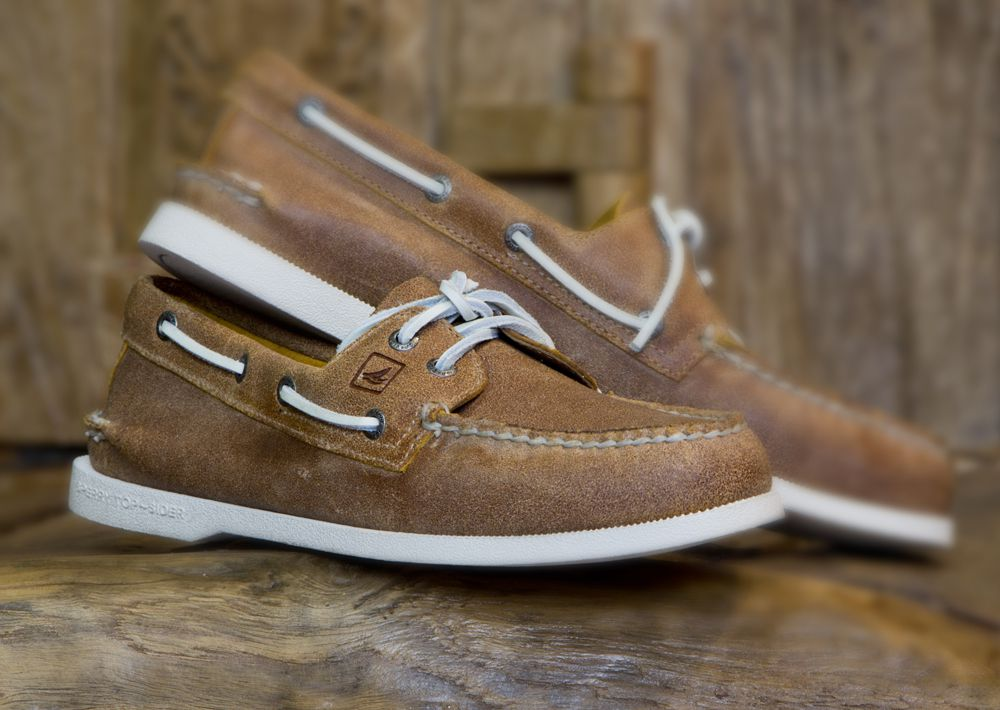 Sperry Top-Sider A//O Deck Boat Shoe Ice White Leather