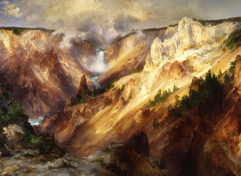 a thomas moran masterpiece returns to american art at the