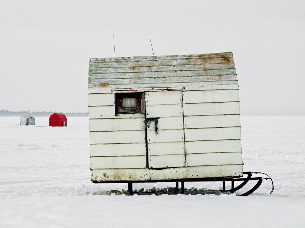 Portraits of Canada's Ice Fishing Huts | Travel | Smithsonian