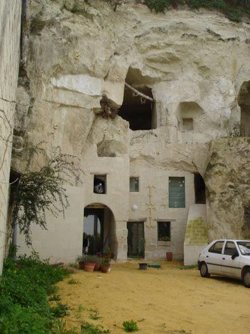 A Tour of France's Cave Homes   Travel   Smithsonian Safari Hunting Cave House Designs Html on