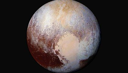 There's Flowing Ice on Pluto