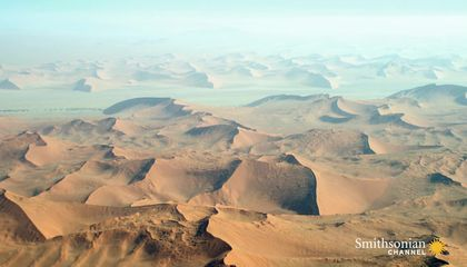 Are the Sands of the Namib Desert Really Rusting?