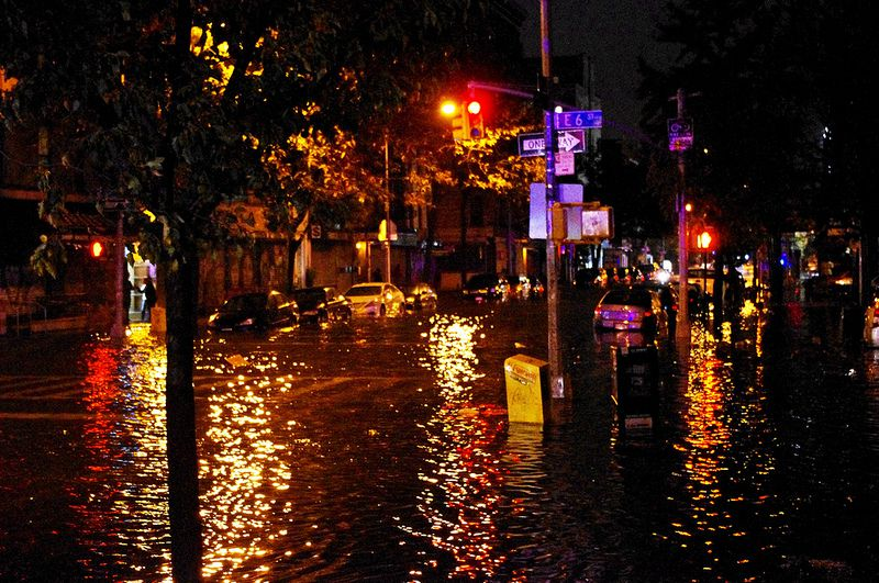Flooding in Manhattan