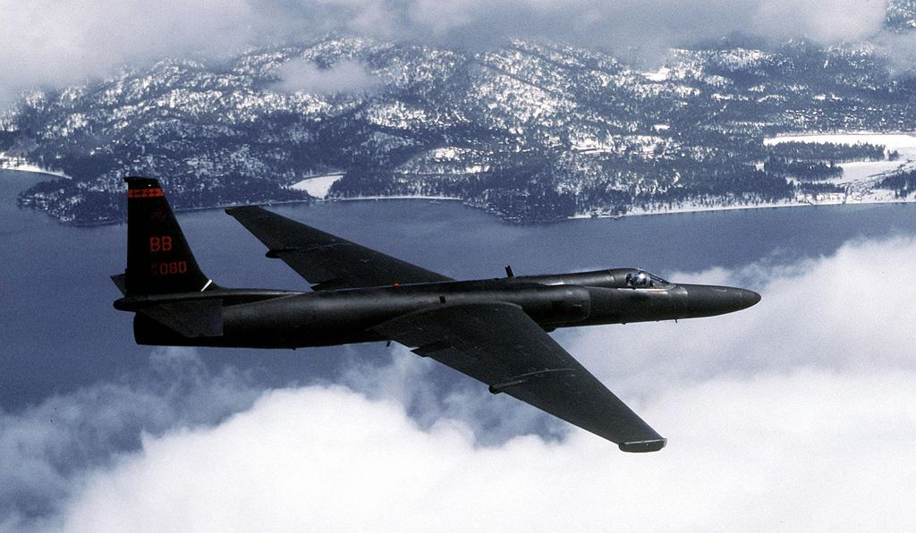 Another distinctive feature of the U-2 long-range reconnaissance aircraft is its sailplane-style wings.