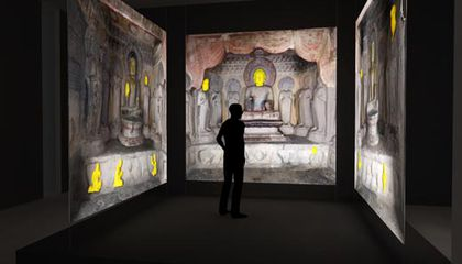 """Opening Saturday: """"Echoes of the Past: The Buddhist Cave Temples of Xiangtangshan"""""""