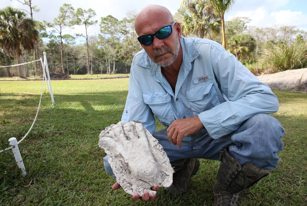 Dave Shealy, Florida's self-proclaimed expert on Skunk Apes. (Photo by Joseph Stromberg)