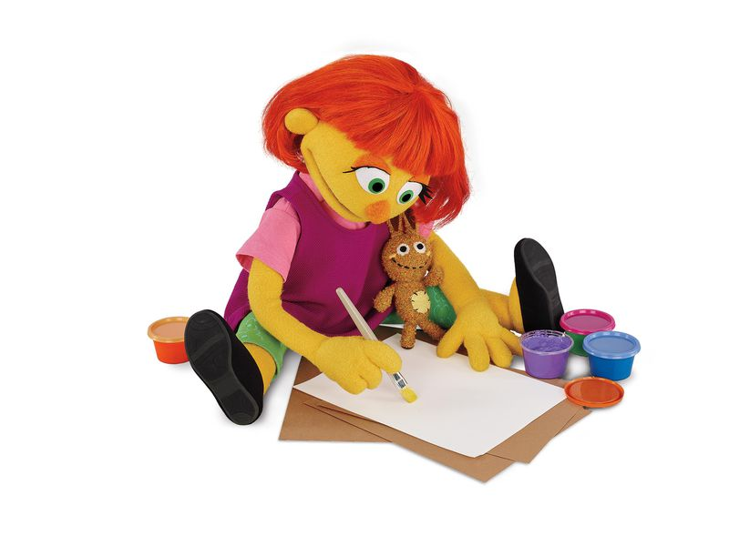 New Study Adds Key Piece To Autism >> Why The Team Behind Sesame Street Created A Character With