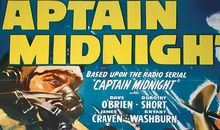 Over 15 episodes, Captain Midnight survived bombs, fire, near drowning, and more, before delivering criminal mastermind Ivan Shark to the police — a departure from the comic strip, in which Shark was devoured by a polar bear.