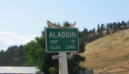 This Wyoming Town Was Put Up for Auction