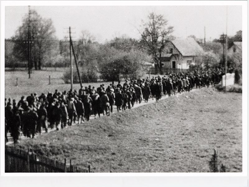 When the Nazis Murdered Thousands by Sending Them on Forced Death Marches