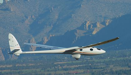 A High-Flying Glider Takes Its First Baby Step