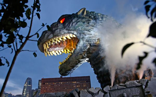 Godzilla is honored in Tokyo