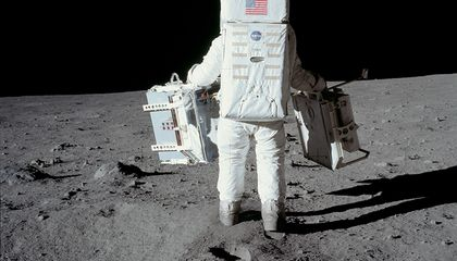 Astronauts Fill Out Customs Forms, Too