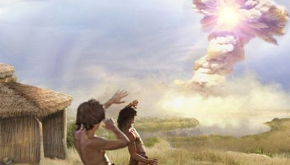 A Comet May Have Destroyed This Paleolithic Village 12,800 Years Ago