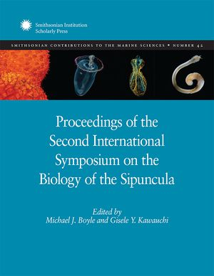 Proceedings of the Second International Symposium on the Biology of the Sipuncula photo