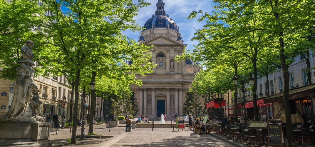 La Sorbonne, just one of the highlights of the Latin Quarter