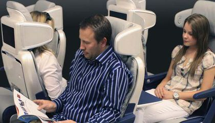 Are aft-facing airplane seats safer?
