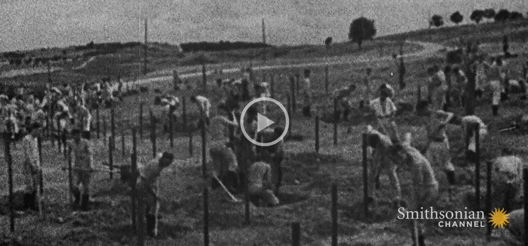 Caption: Surreal Footage of British Life Under Nazi Occupation