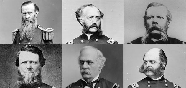 Who Had The Best Civil War Facial Hair History Smithsonian