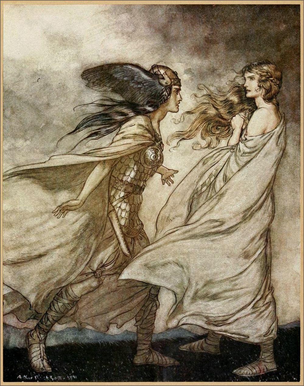 Illustration Arthur Rackham Art