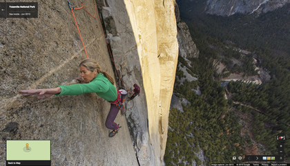 Scale El Capitan From Your Couch Using Google Street View