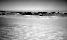 Opportunity nears the edge of a giant Martian crater.