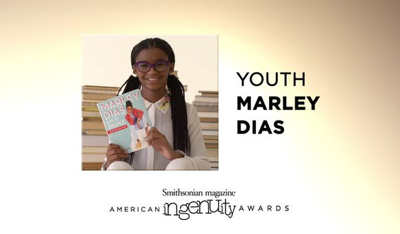 Preview thumbnail for video'Marley Dias' Inspirational Goal to Collect Books About Girls of Color
