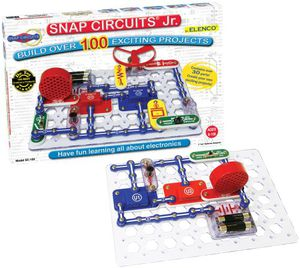 Preview thumbnail for 'Snap Circuits Jr. SC-100 Electronics Exploration Kit