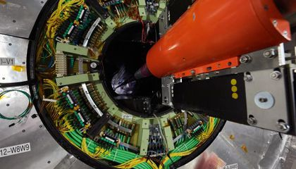 "Large Hadron Collider Gets ""Open Heart Surgery"""