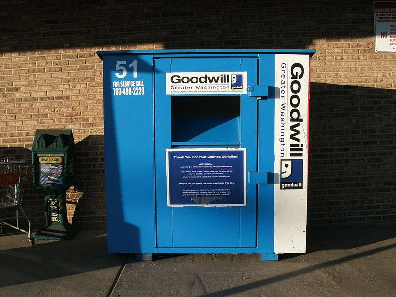 Fake Clothing Drop Bins Use Your Charity Donations To