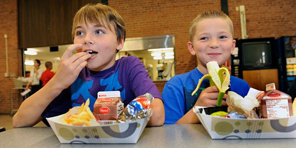 Do you toss your cafeterias food in the trash?