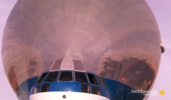 Preview thumbnail for video'NASA's unusual transport plane