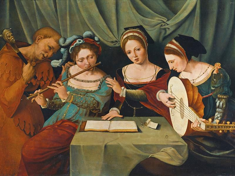15th-century female musicians