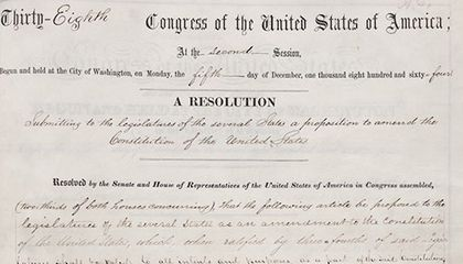 Mississippi Officially Ratifies Amendment to Ban Slavery, 148 Years Late