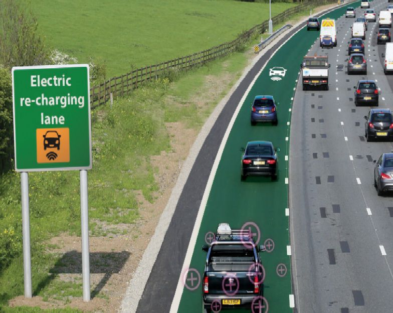 England Is Going to Test Roads That Actually Charge Electric Cars ...